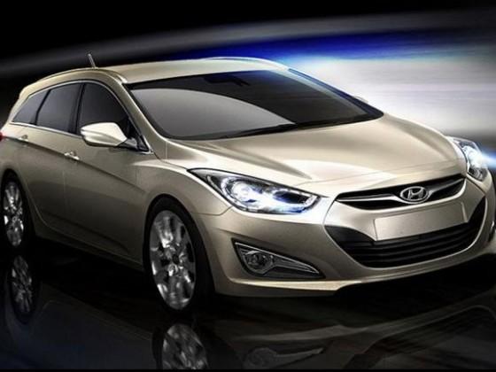 Hyundai i40 Wagon (rendered)
