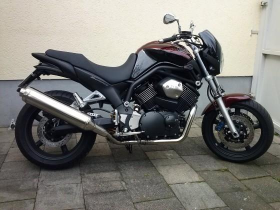 Meine 05er Yamaha BT1100 Bulldog...