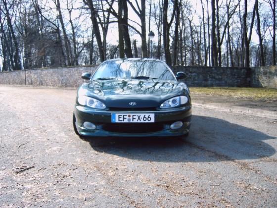 Mein Ex Hyundai Coupe J2 2.0 in meinem Besitz von 2003-2007