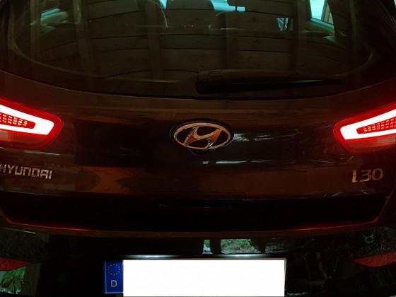 Umbau auf LED Rückleuchten bei meinem Hyundai i30 Hatchback FL 1,5 T-GDI DCT