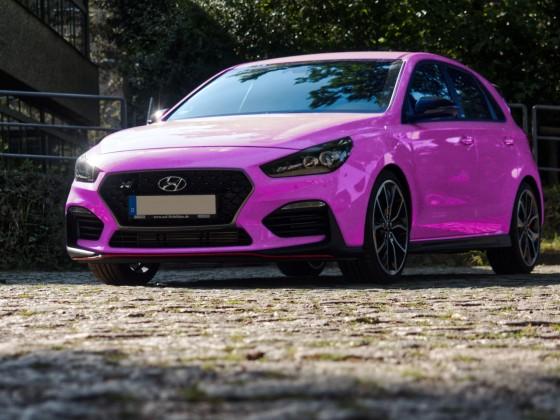 Farbstudie pink