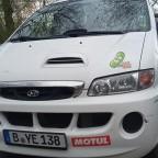 H1 - 2003 mit neuem Maskottchen - Die Furzgurke - noch ganz warm :)