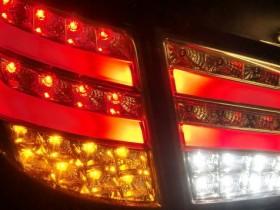 LED Rücklicht leuchtet